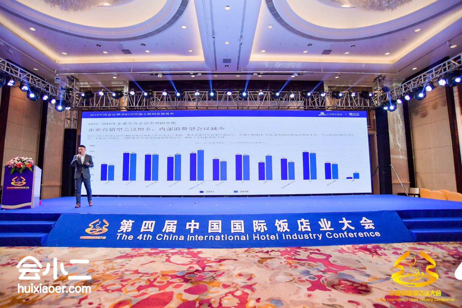 中国饭店协会&会小二联合发布《2019中国会议酒店MICE市场互联网发展报告》
